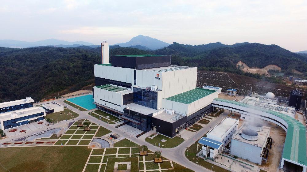 广东潮州环保电厂投产发电