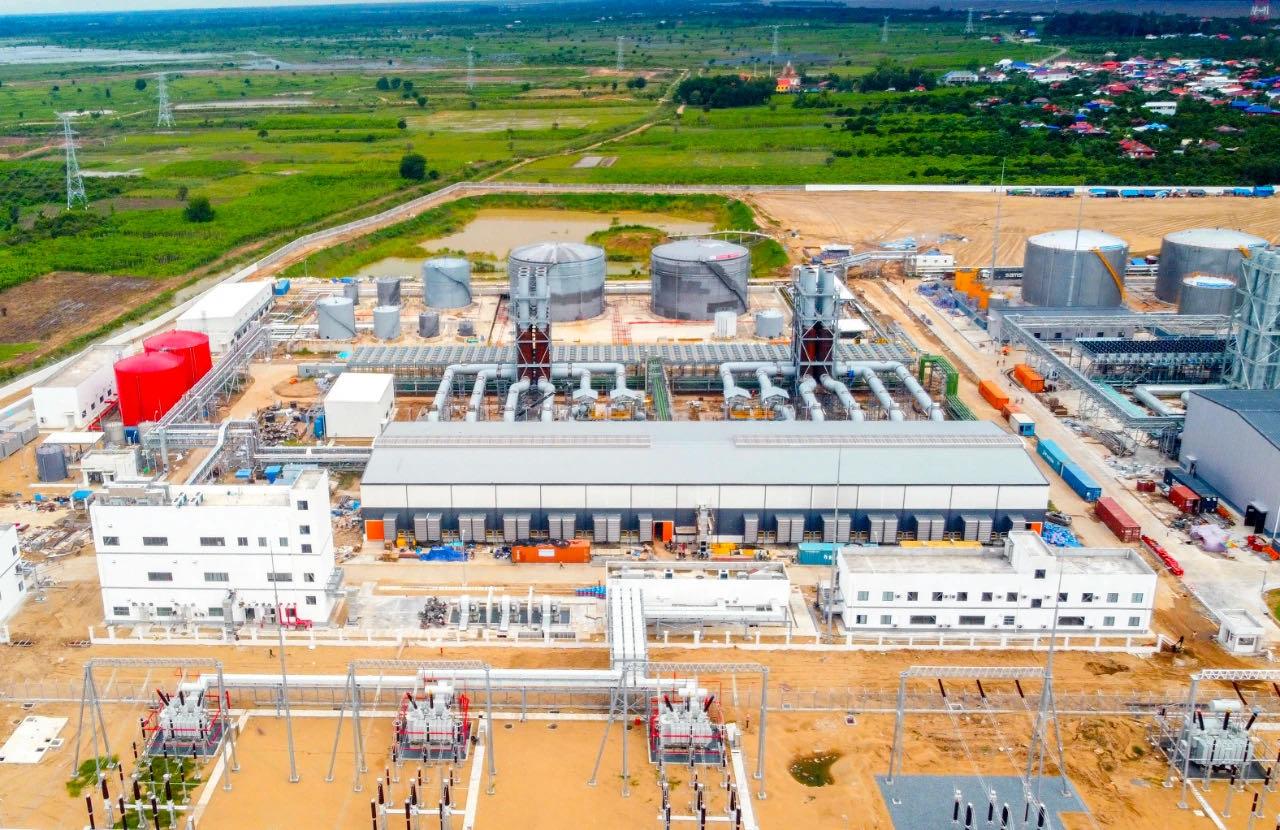 柬埔寨200兆瓦双燃料电站项目商运
