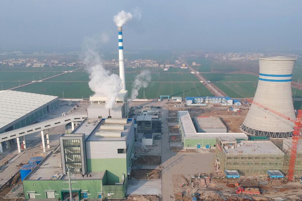 安徽濉溪生物质热电项目并网发电
