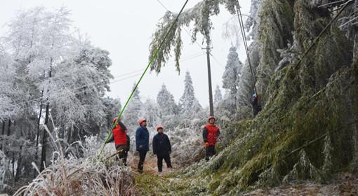 国家电网全力应对寒潮影响 确保安全可靠供电