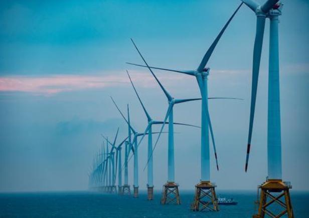 国内首个单体大容量海上风电全部并网运行