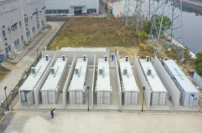 浙江省首座电网侧磷酸铁锂储能电站在宁波投运