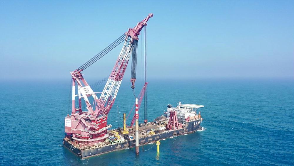 华电阳江青洲三500兆瓦海上风电项目开工