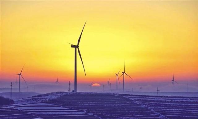 甘肃通渭百万千瓦级风电基地建成