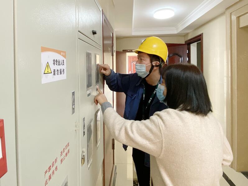 国网慈溪市供电公司工作人员主动上门为客户答疑受好评