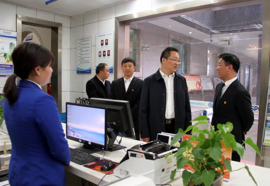陕西地电商洛供电分公司党委书记杨晓斌赴镇安调研指导工作