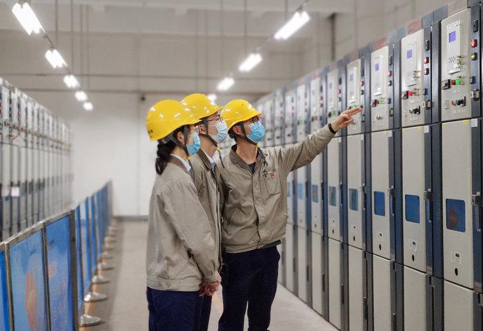 """国能(泉州)热电有限公司夯实""""老带新""""方式开展新员工培训提技能"""