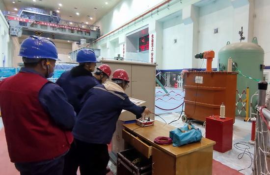 国网刘家峡水电厂4号发电机定子整体电气试验顺利通过