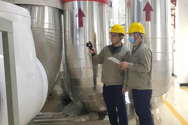 国能(泉州)热电有限公司现场教学助力新员工成长