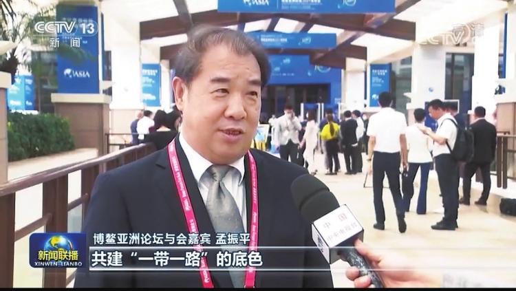 南方电网公司董事长、党组书记孟振平接受央视《新闻联播》采访