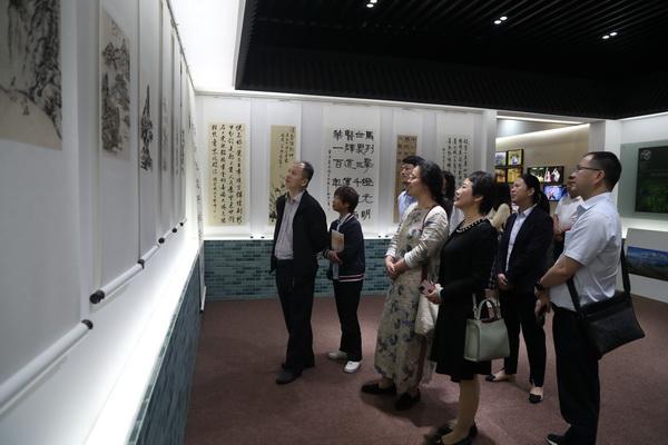 国网宁海县供电公司开展建党百年职工廉政书画摄影联展