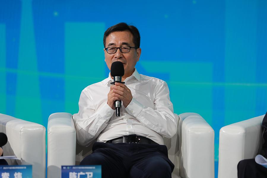 """中国石化陈广卫:多措并举""""加速""""绿色低碳转型发展"""