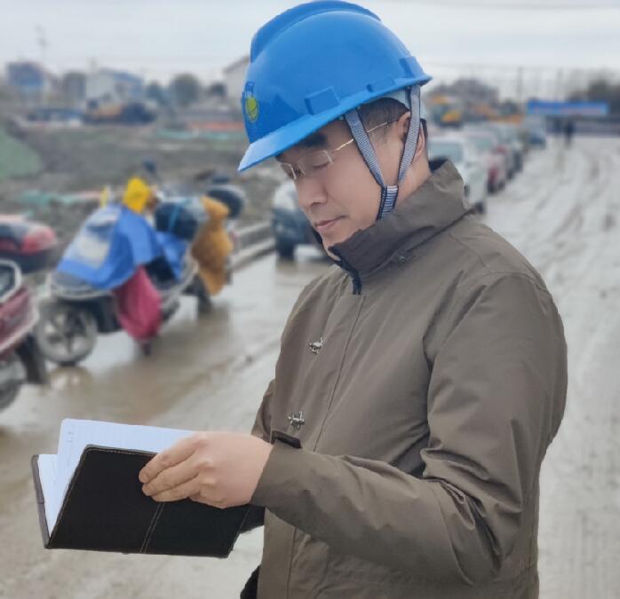 在电力线路设计的道路上精彩前行——记如东永晟实业有限公司电力线路设计组组长、电力工程技术工程师汪建军