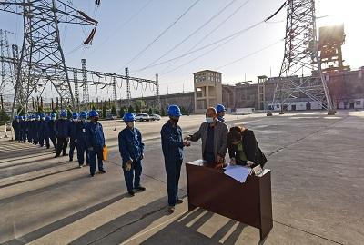 国网刘家峡水电厂:为群众办实事  密织防疫安全网