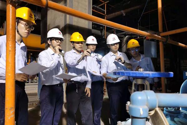 """国能(连江)港电有限公司""""双提升""""技能培训促进新员工快速成长"""