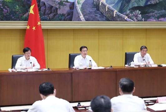 """韩正:坚决遏制""""两高""""项目盲目发展"""