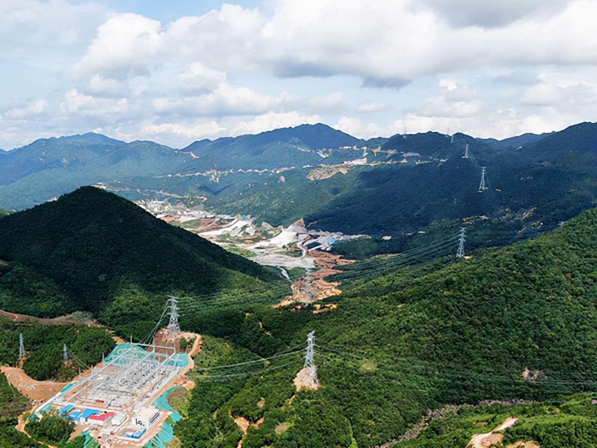 广东500千伏梅州抽水蓄能电站接入系统工程竣工投运