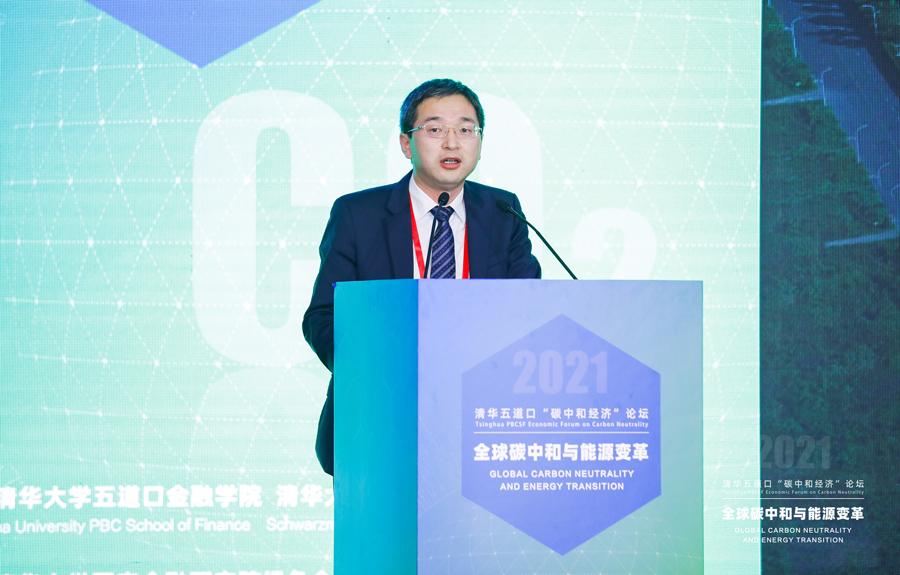 唐旭辉:发展绿电绿氢 助力实现碳中和目标