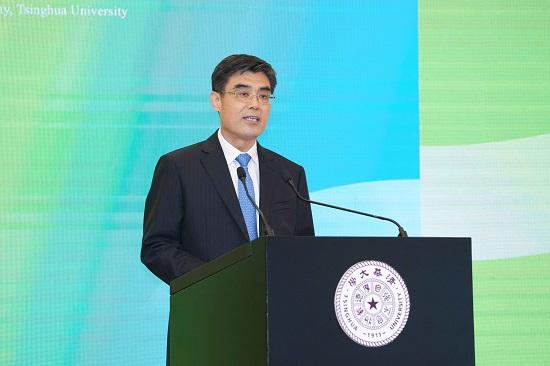 舒印彪出席清华大学碳中和研究院成立仪式并致辞