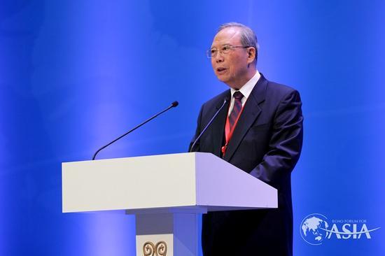 博鳌亚洲论坛副理事长、中国国务院原副总理曾培炎