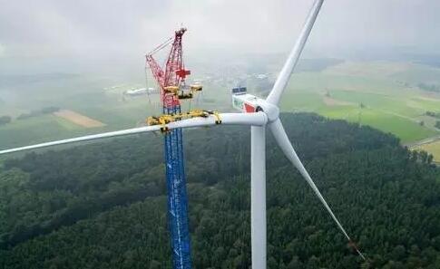 nordex安装世界最高风电机组