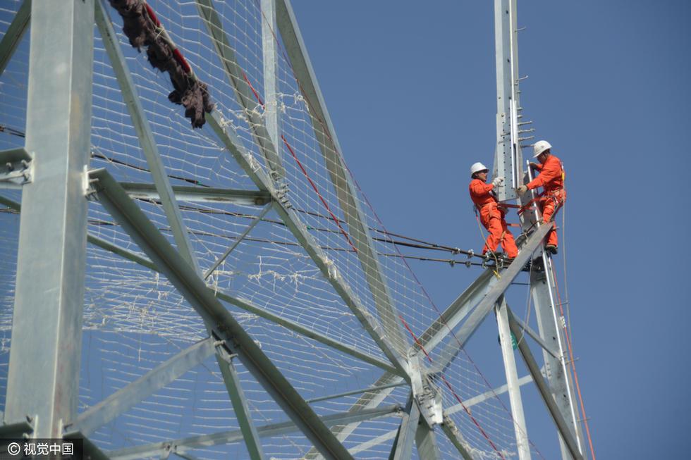 世界等级最高特高压工程进入铁塔组装阶段