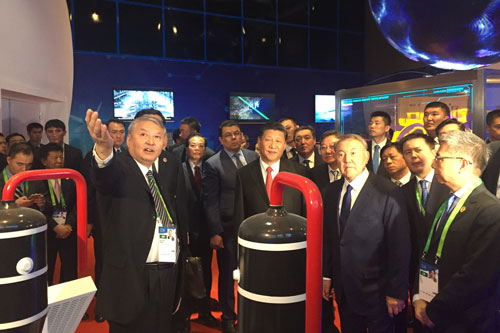 习近平主席:华龙一号是中国完全自主三代核电技术
