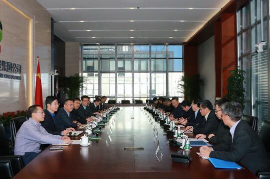 钱智民会见哈尔滨电气集团董事长、党委书记斯泽夫