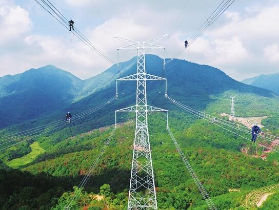 广东澳门新濠天地娱乐场近十年来最长输电线路工程竣工投产