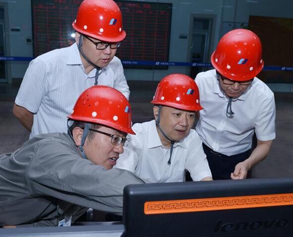 华电集团温枢刚到辽宁区域企业调研