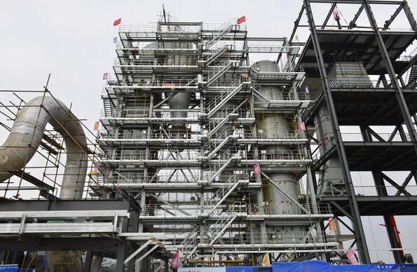 大唐长山厂燃煤耦合生物质气化发电项目厂用授电一次成功