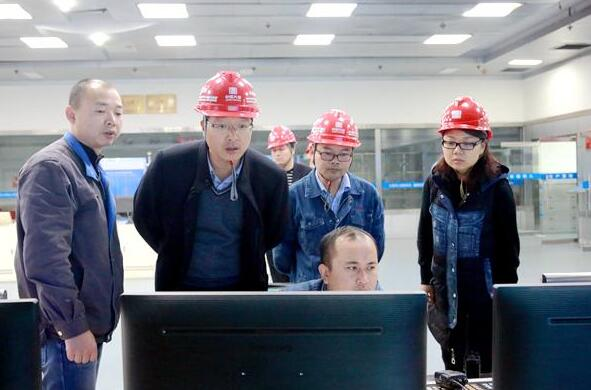 陕煤集团到大唐石门发电公司调研对标工作