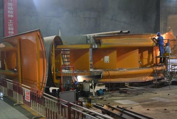 世界首台百万千瓦机组座环组焊质量达到精品要求