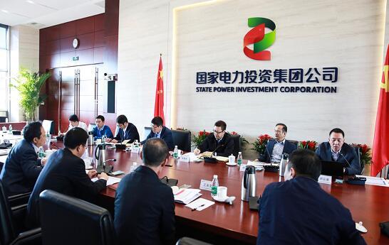 钱智民参加集团人资部支部党员大会