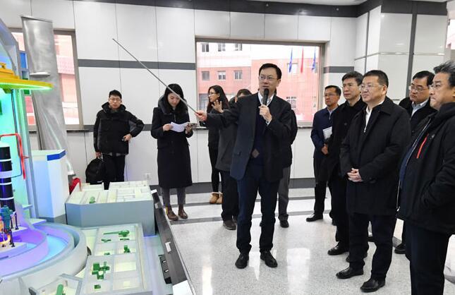国家能源局章建华赴中核集团公司调研