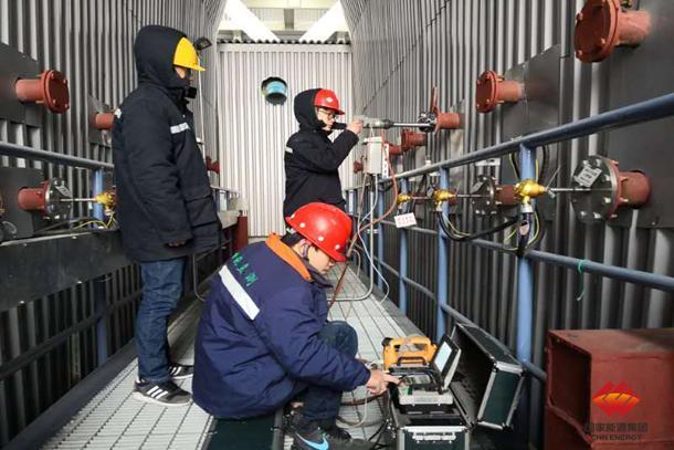 宿迁发电厂二期3号机组完成烟气污染物超低排放验收监测