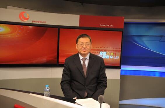国家能源局局长章建华做客人民网谈能源发展