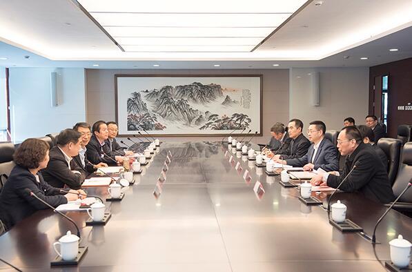 华电集团副总经理杨清廷会见漯河市委副书记、市长刘尚进